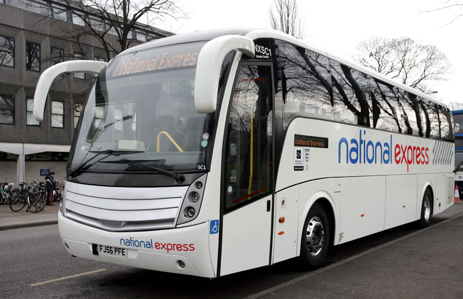 National express bournemouth to london